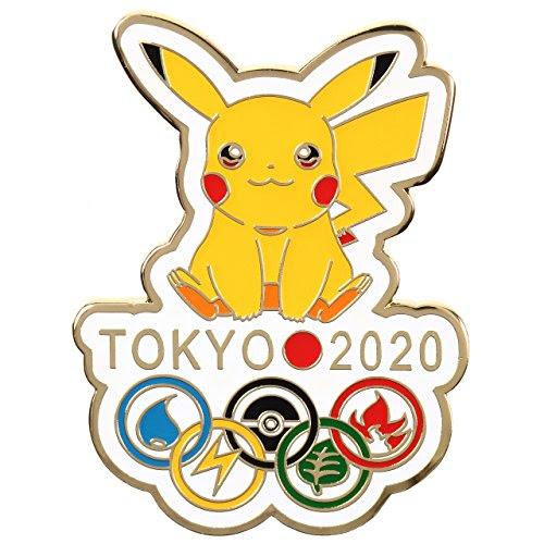 東京オリンピック 2020 東京五輪 ポケモン ピカチュウ ピンバッジ ピンバッチ GOLD