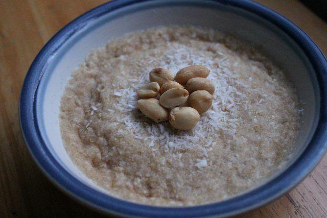 Coconut Peanut Quinoa Flakes