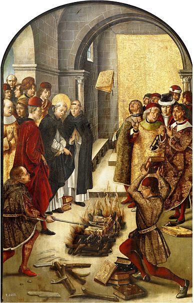 File:Pedro Berruguete - St Dominic and the Albigenses - WGA02083.jpg