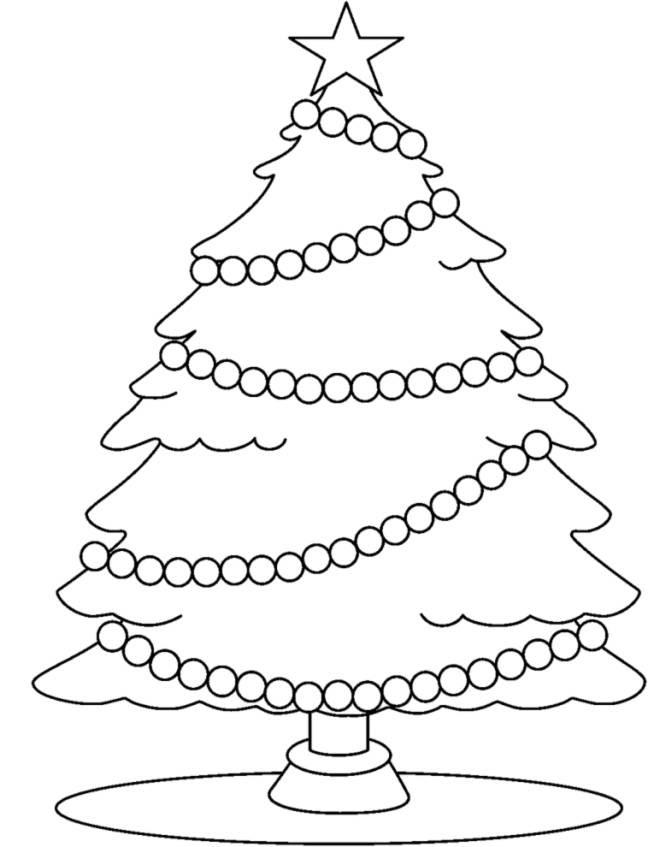 Disegni Da Colorare Lalbero Di Natale Disegni Di Natale 2019