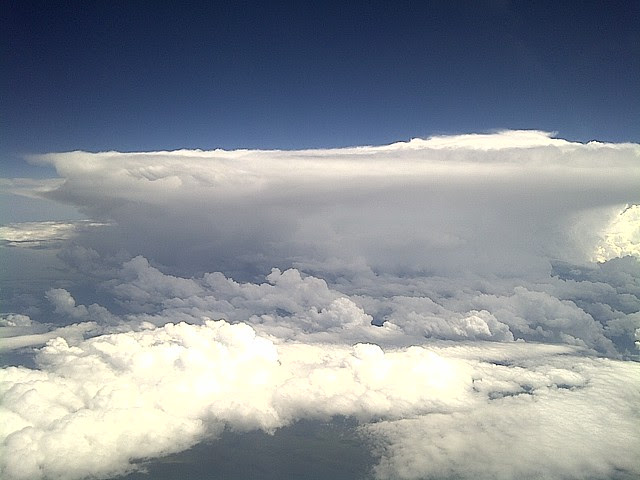 Cloudscape over America