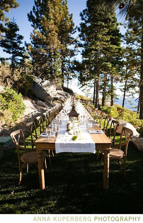 Desiree Hartsock   Wedding Blog. Mountain side dinning for