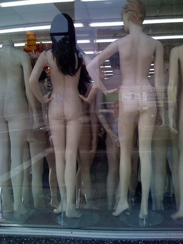 Mannequins have butts, too