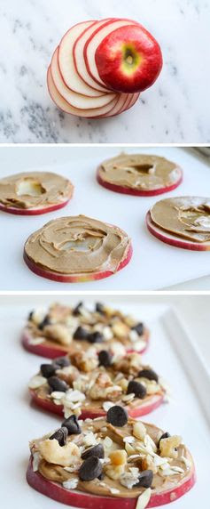 "Apple cookies - my kids love to take ""apple sandwiches"" for snack!"
