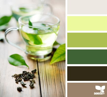 green tea tones