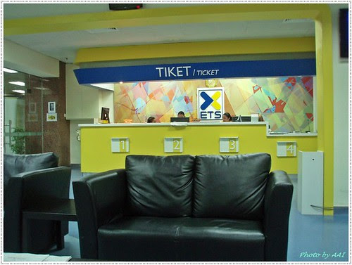 ETS ticketing counter @ KL Sentral