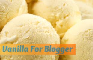 Vanilla For Blogger