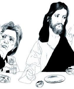Jesus and Hillary