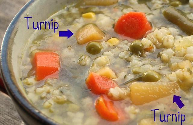 Veggie & barley Soup 1