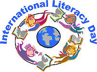 अन्तर्राष्ट्रीय साक्षरता दिवस का प्रतीक चिह्न