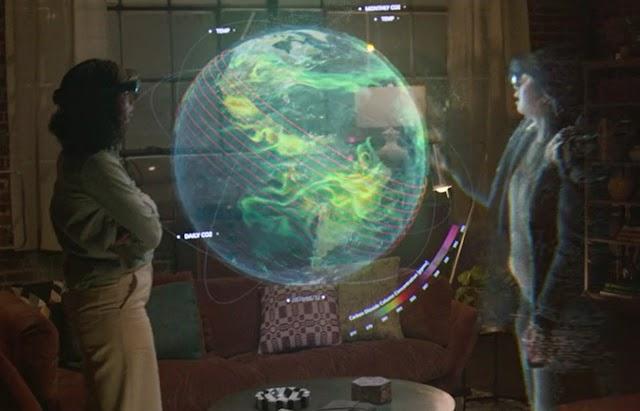 La malla de Microsoft apunta a las reuniones de realidad mixta del futuro