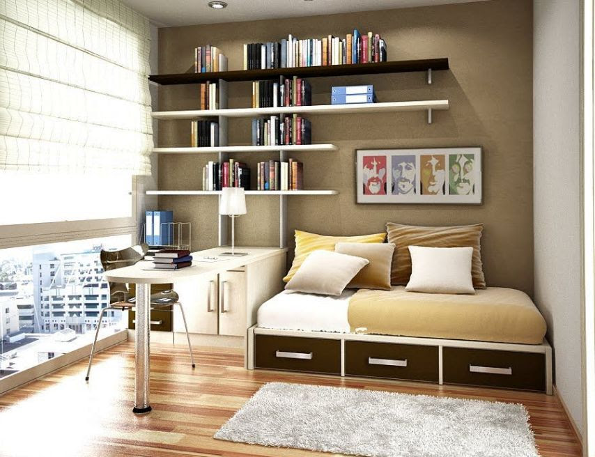 Home Office Bedroom Design Ideas - home design