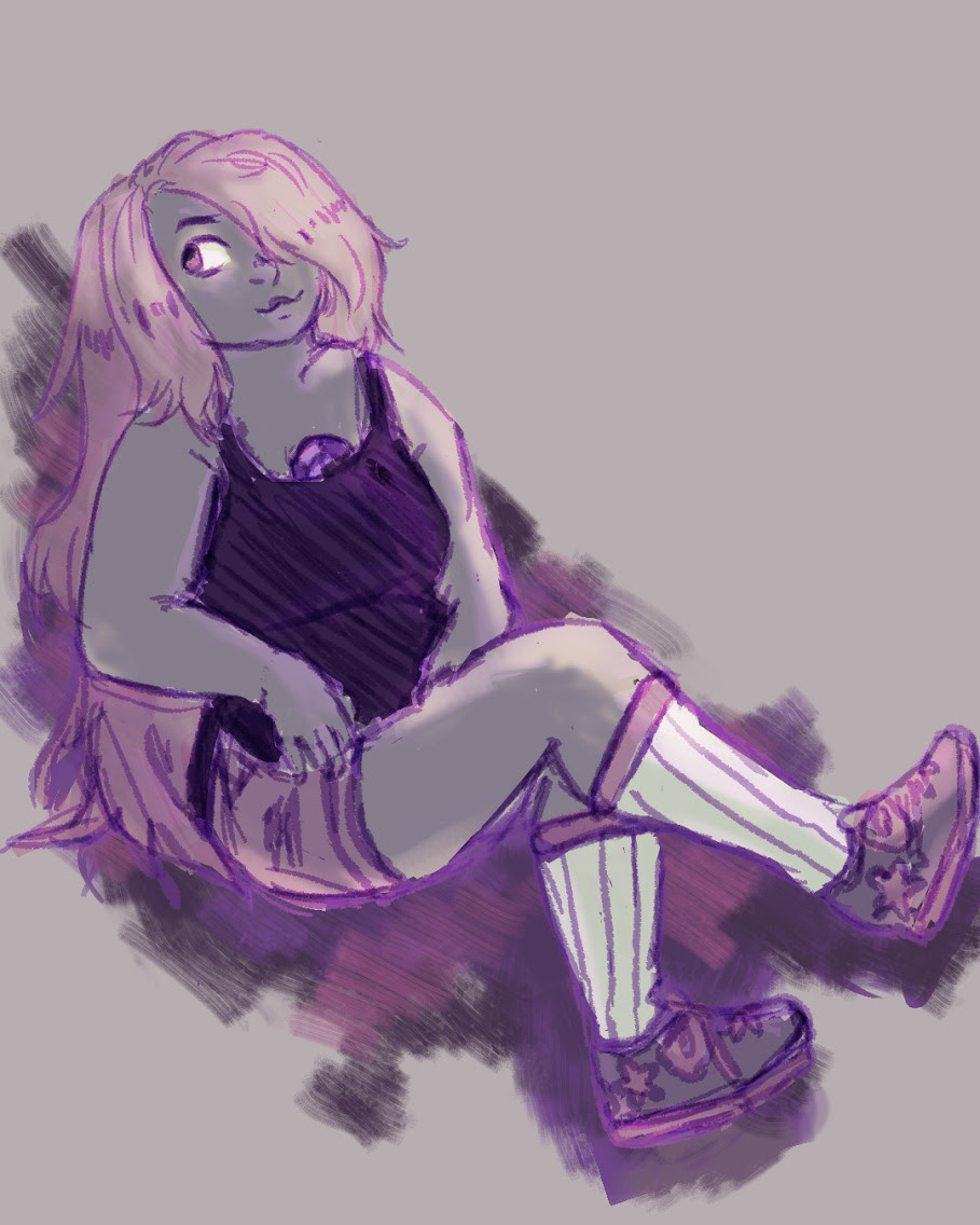 just a little amethyst doodle