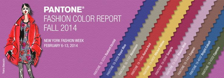 Pantone Fashion Color Report | Fall 2014 Color Trend Inspiration | Belinda Lee Designs