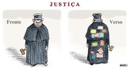 Resultado de imagem para charge judiciário