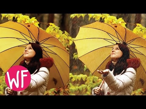 How to Make Rain Effect in Photoshop