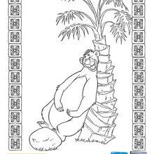 Coloriages Le Livre De La Jungle Lours Baloo Frhellokidscom