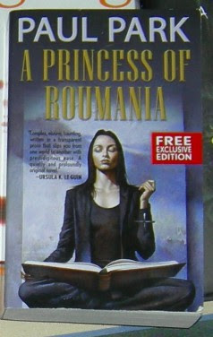A Princess of Roumania by Paul Park.  Cover artist unknown.