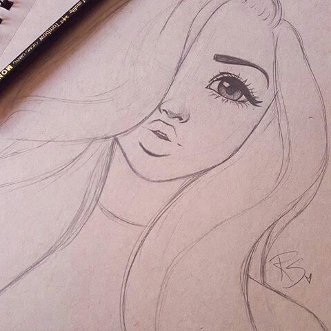 480x480 A simple and pretty drawing Pretty Woman Pinterest Pretty