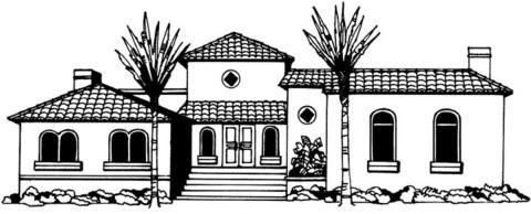 Dibujo De Una Casa Grande Para Colorear Arquitectura Del Hogar
