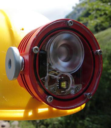 El dispositivo de iluminación LED ha sido desarrollado por alumnos de la Universidad de Burgos.