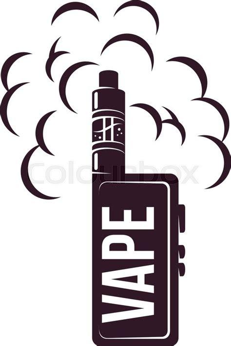 vape  cigarette emblems labels stock vector