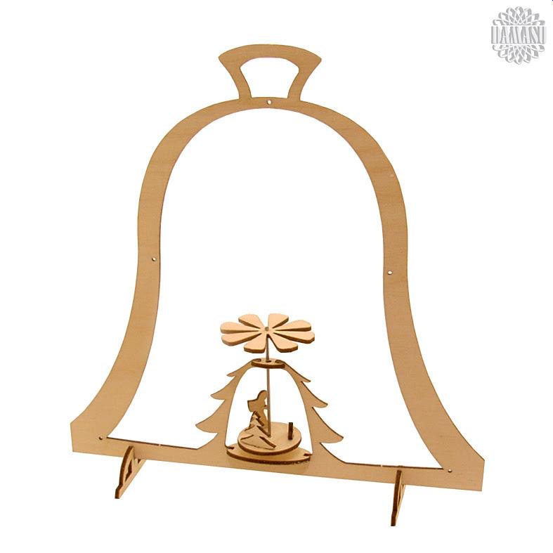Glocke mit Waldmotiv