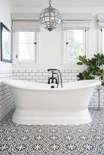 Patterned Tile Trend - The Honeycomb Home