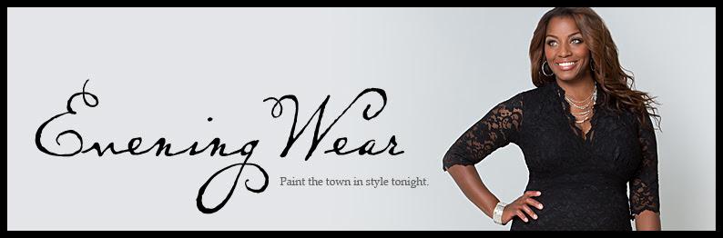 Elegant evening wear tops