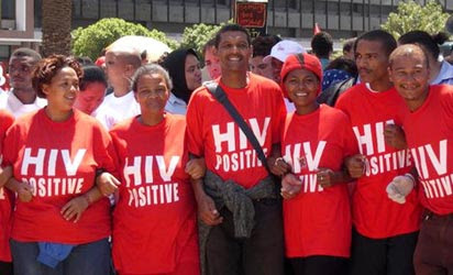 File photo: A rally to mark HIV/Aids Day.
