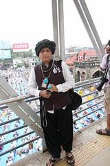 Ramzan Eid Ul Fitr Namaz Bandra Station Road 2012 by firoze shakir photographerno1