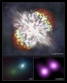 Chandra registra la supernova más grande conocida