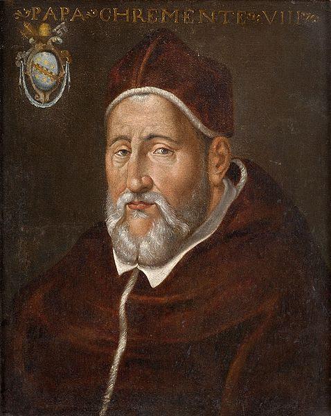 File:Papst Clemens VIII Italian 17th century.jpg