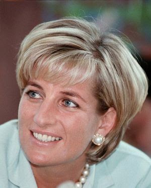 """Diana """"banished her helmet hair in favour of shorter, sexier styles""""."""