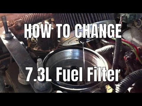 diesel therapy   change fuel filter   powerstroke