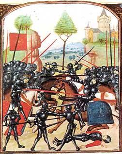 Earl of Warwich slain at the Battle of Barnet
