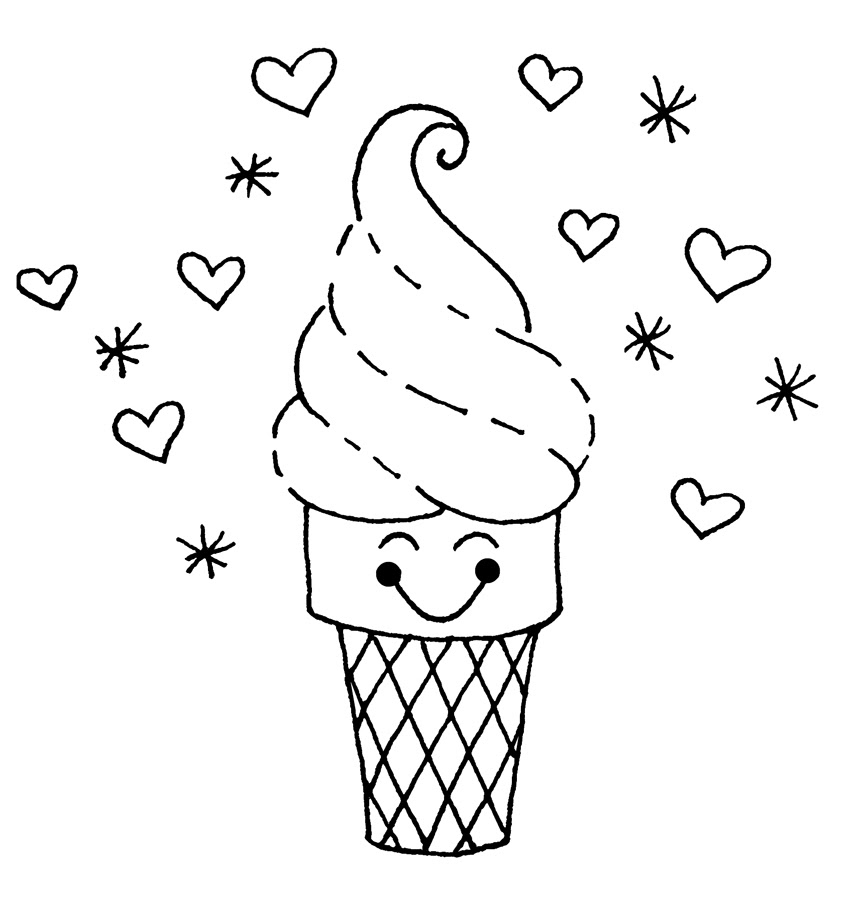 - Free Printable Ice Cream Coloring Pages For Kids - Jeffersonclan