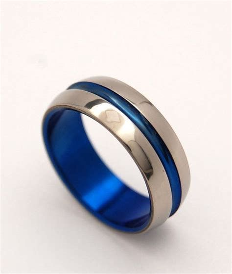 titanium wedding ring, men's ring, women's ring