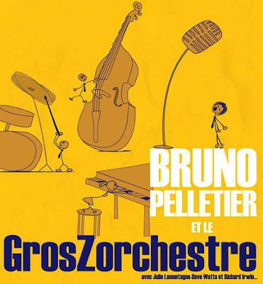 Bruno Pelletier et le Gros Zorcherstre