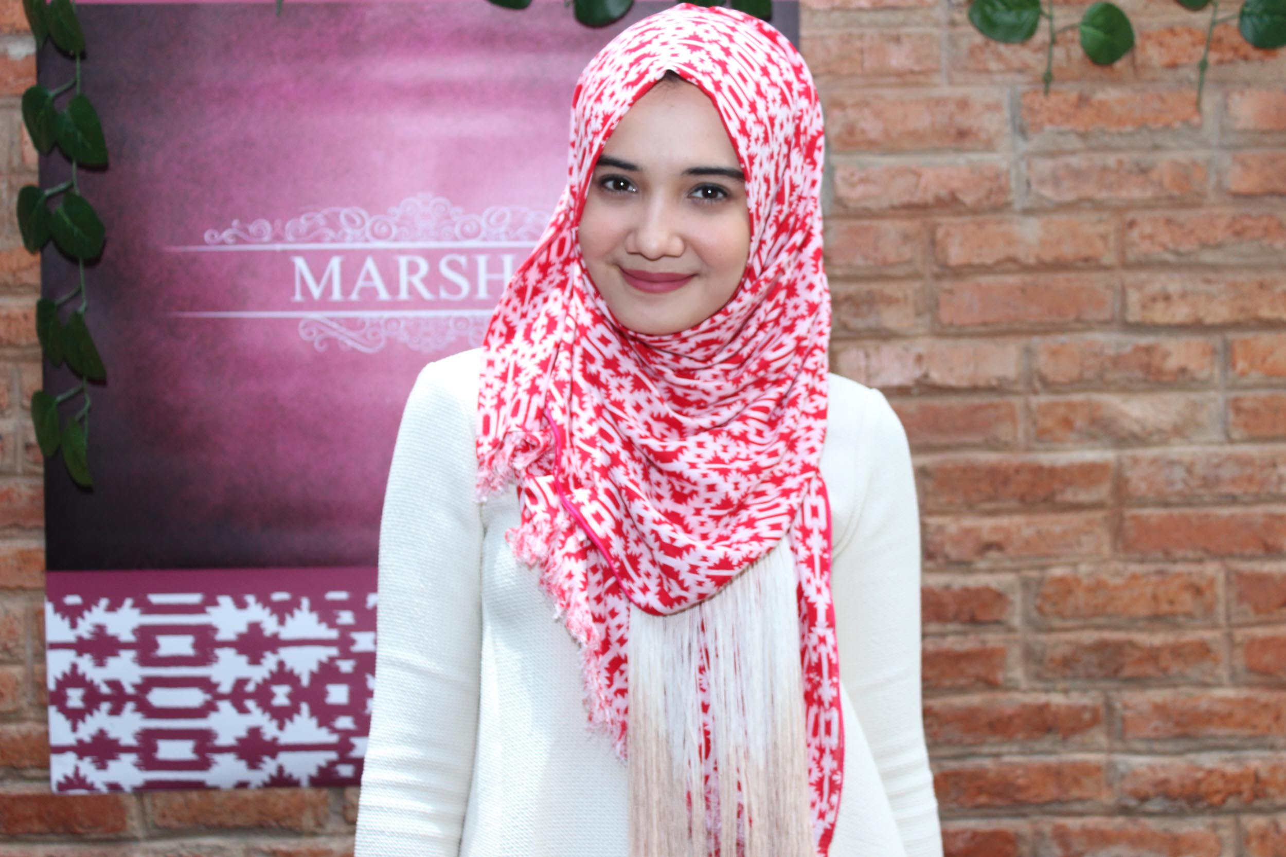 Gaya Hijab Ala Zaskia Sungkar Tutorial Pashmina By Anita Scarf