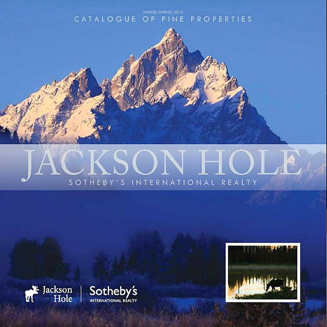 Front Cover of Jackson Hole Sotheby's