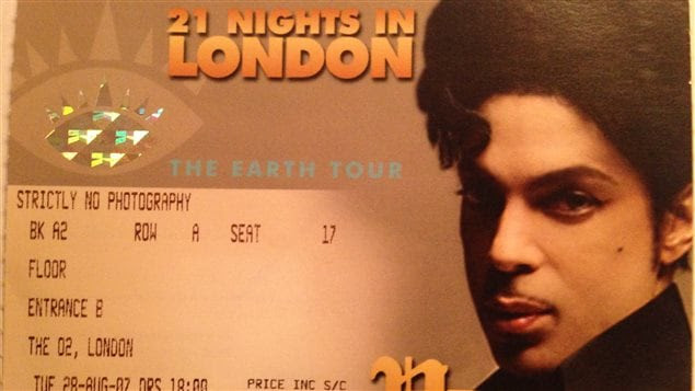 The Earth Tour Prince