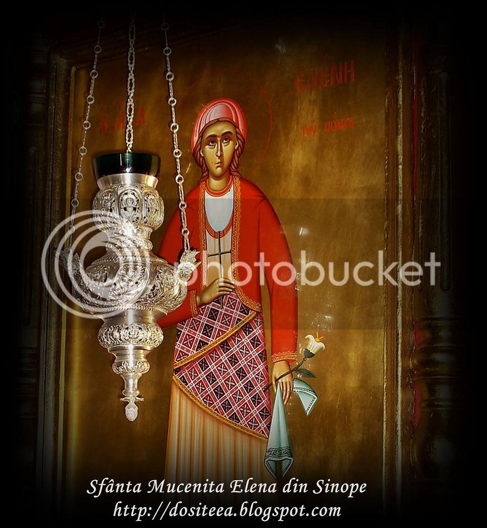 Sfânta Elena din Sinope - ajutătoarea celor care suferă de dureri de cap