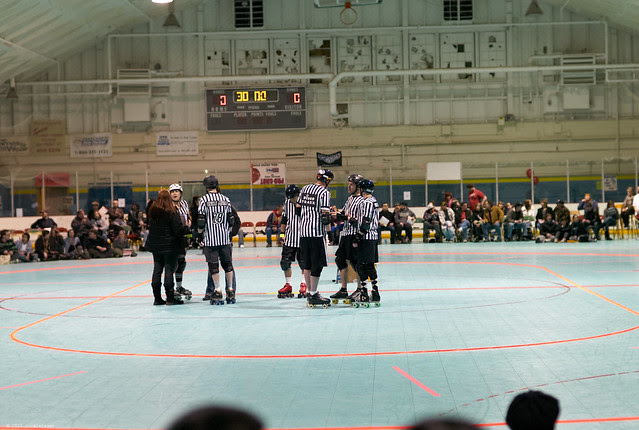 Water City as a venue for roller derby