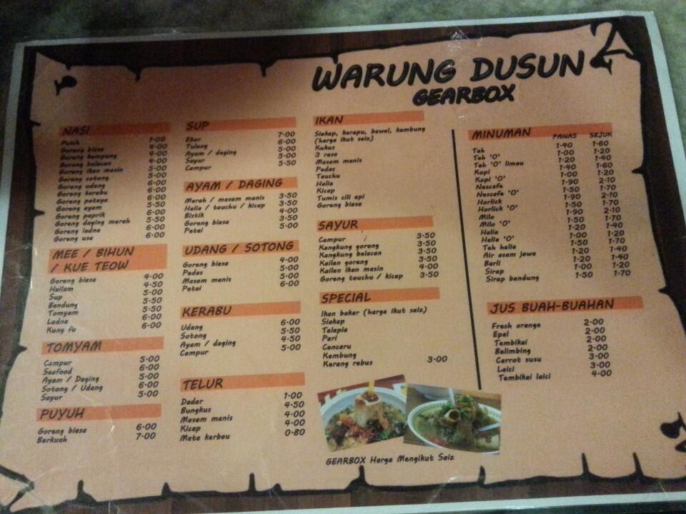 Warung Dusun Gearbox