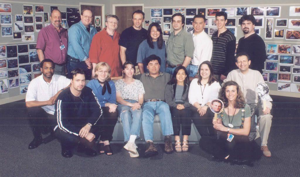 Buzz Lightyear crew photo #1