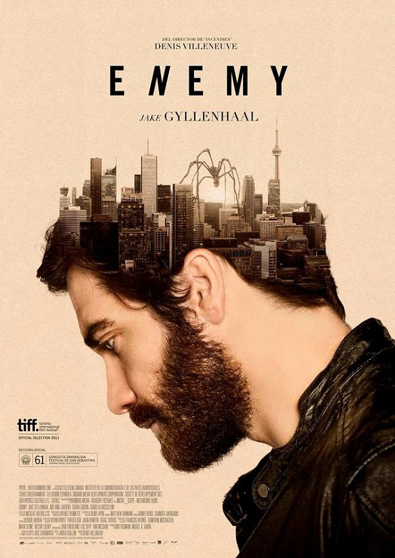Enemy starring Jake Gyllenhaal