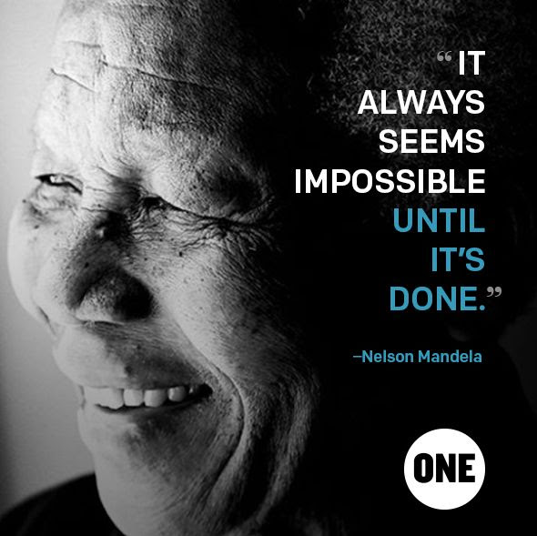 Happy Nelson Mandela Day.