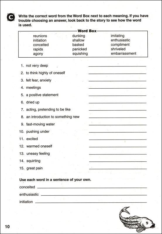Grade 7 Reading Prehension Worksheets Pdf
