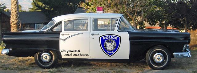 Decepticon Cop Car